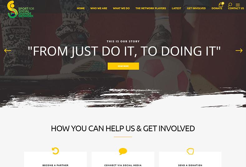 custom developed website