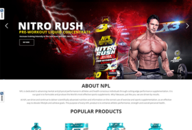 npl website design